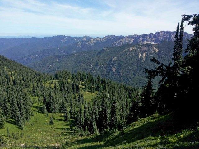 Norse Peak Wilderness east of Crystal Mountain.